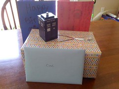 I got a TARDIS for my birthday! ty  K!