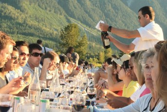 Outstanding In The Field Dinner | North Arm Farm | Pemberton
