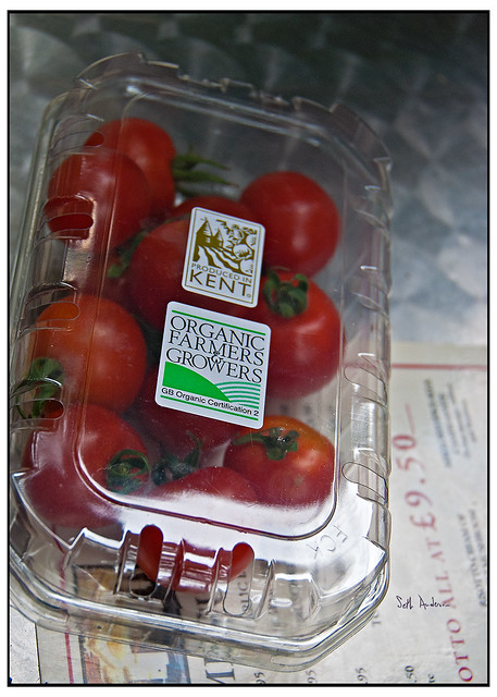 Organic Tomatoes Produced in Kent