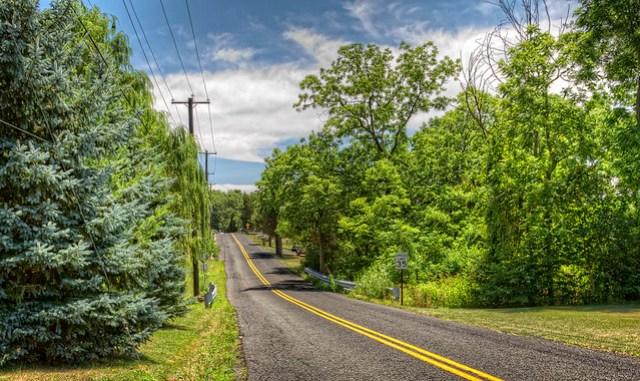 Road in Rural Pennsylvania