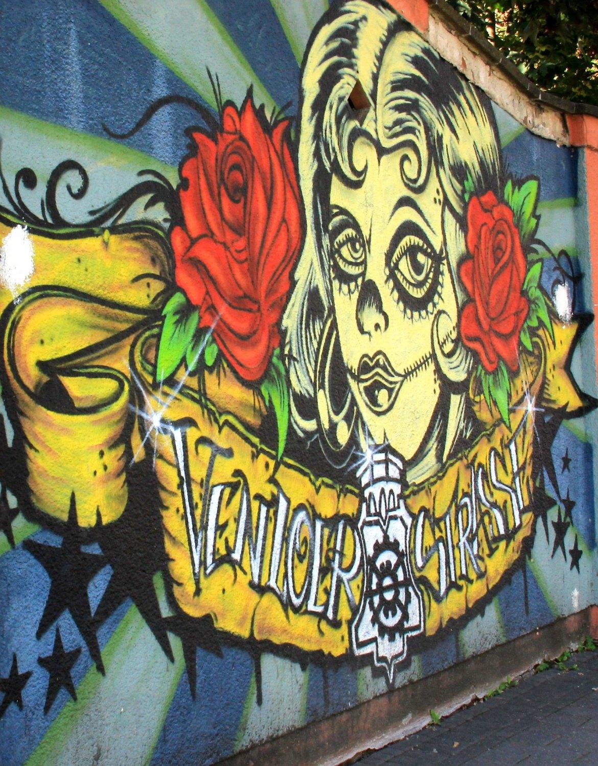 Pop art depicted in Cologne street art