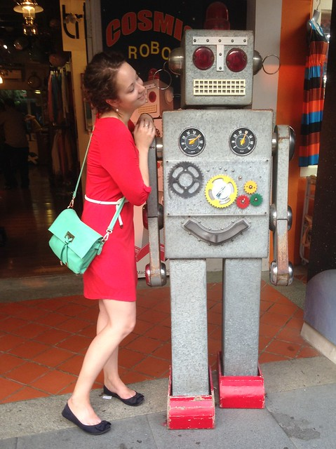 Write About Singapore _ I Fell in Love with a Robot