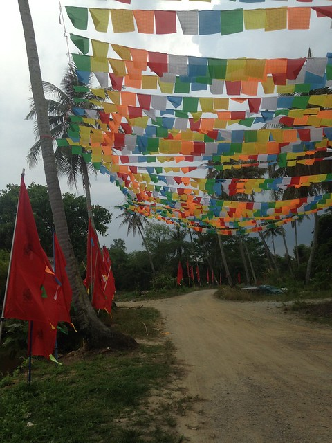 Write about Singapore _ Prayer Flags