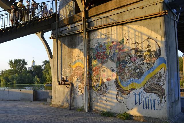 A Weekend in Dnipro Ukraine _ Ukrainian Murals