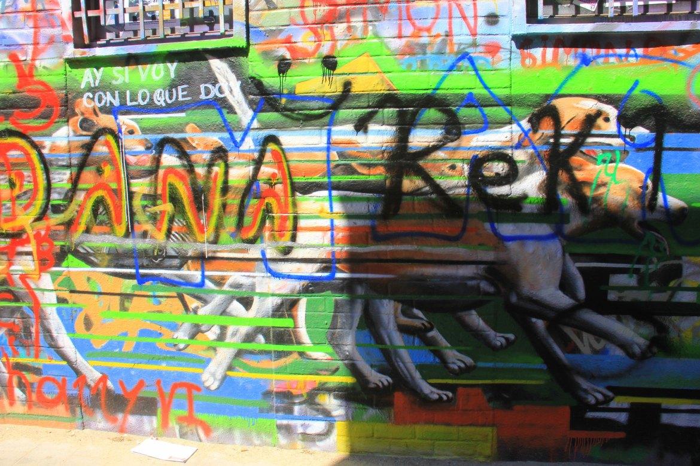Graffiti Lane in Ghent is famous for street art