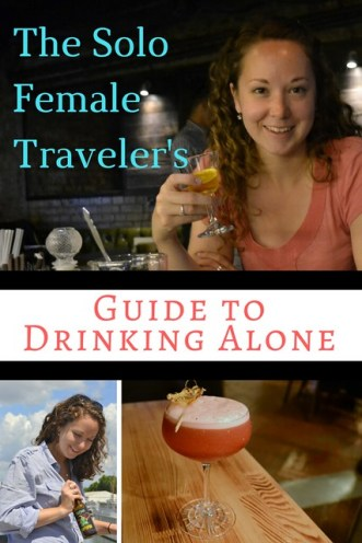 The Solo Female Traveler's Guide to Drinking Alone