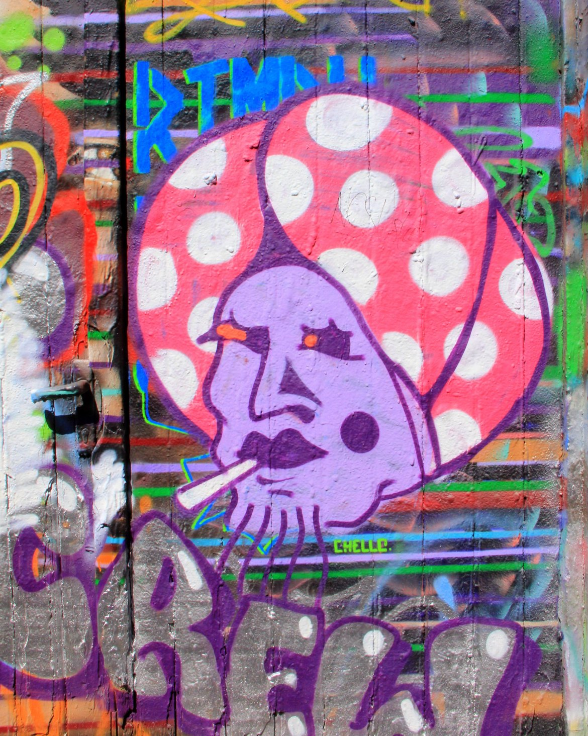 Ghent street art is approved by the city