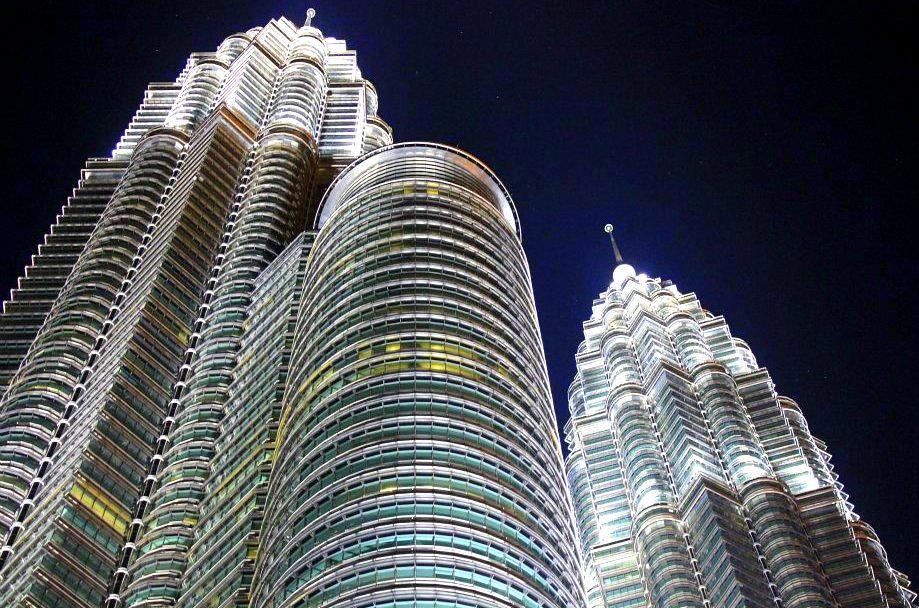 The beautiful skyline of Kuala Lumpur