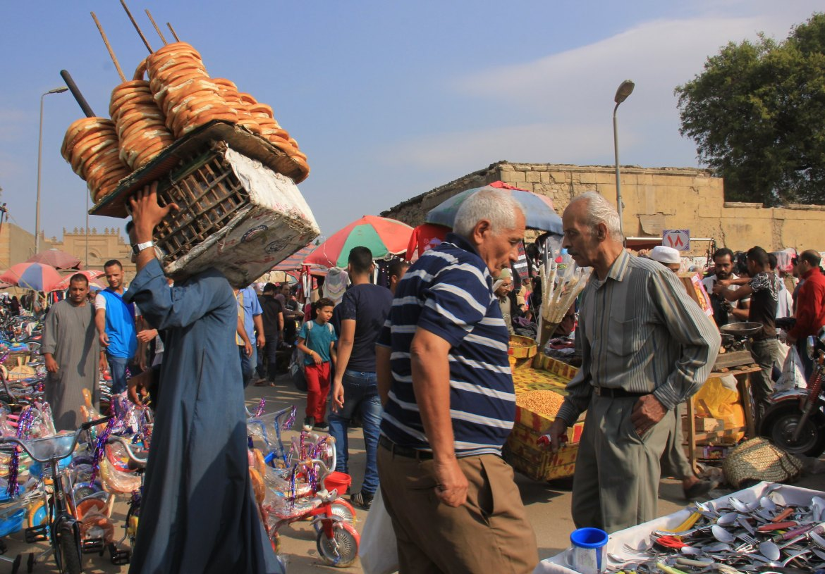 The huge Friday Market of Cairo