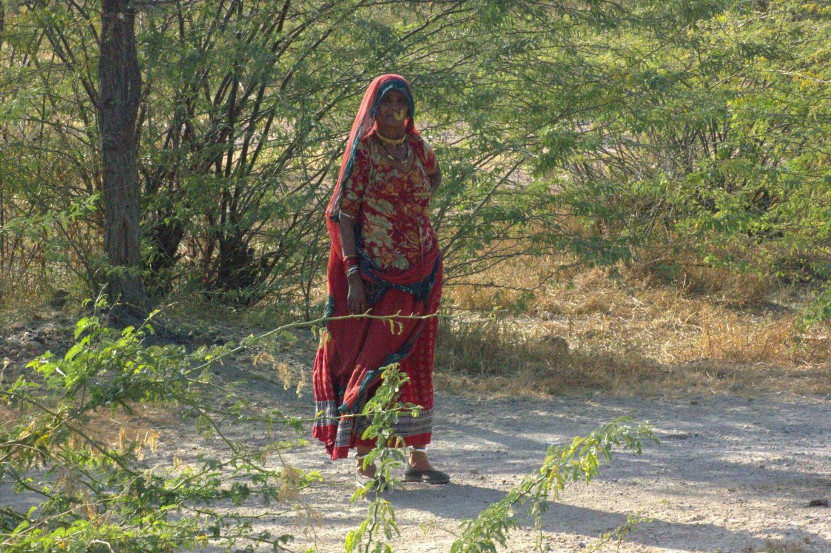 A village woman of Salawas