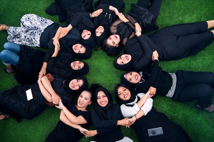 gofotovideo makeup artist / tata rias universitas negeri jakarta 0223