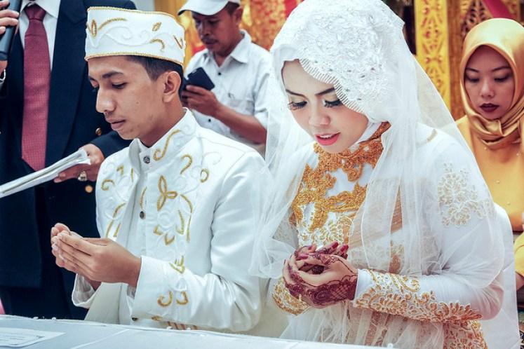 gofotovideo pernikahan adat minang di graha wredatama 123