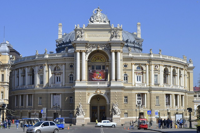 Why Visit Odessa Ukraine _ Outside the Odessa Opera House