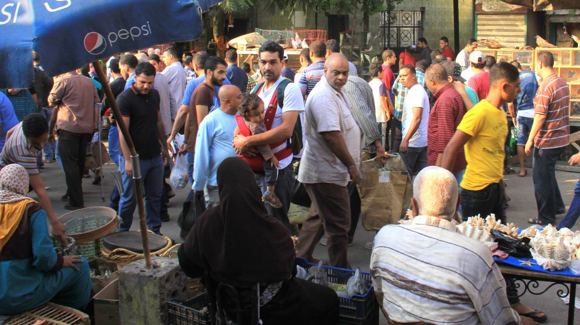 Friday Market or souq al goma gets busy by mid morning