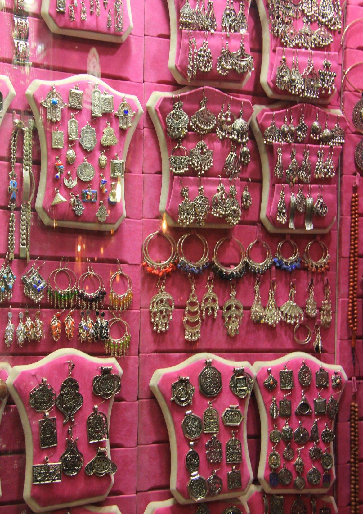 You can buy jewellery at khan el khalili