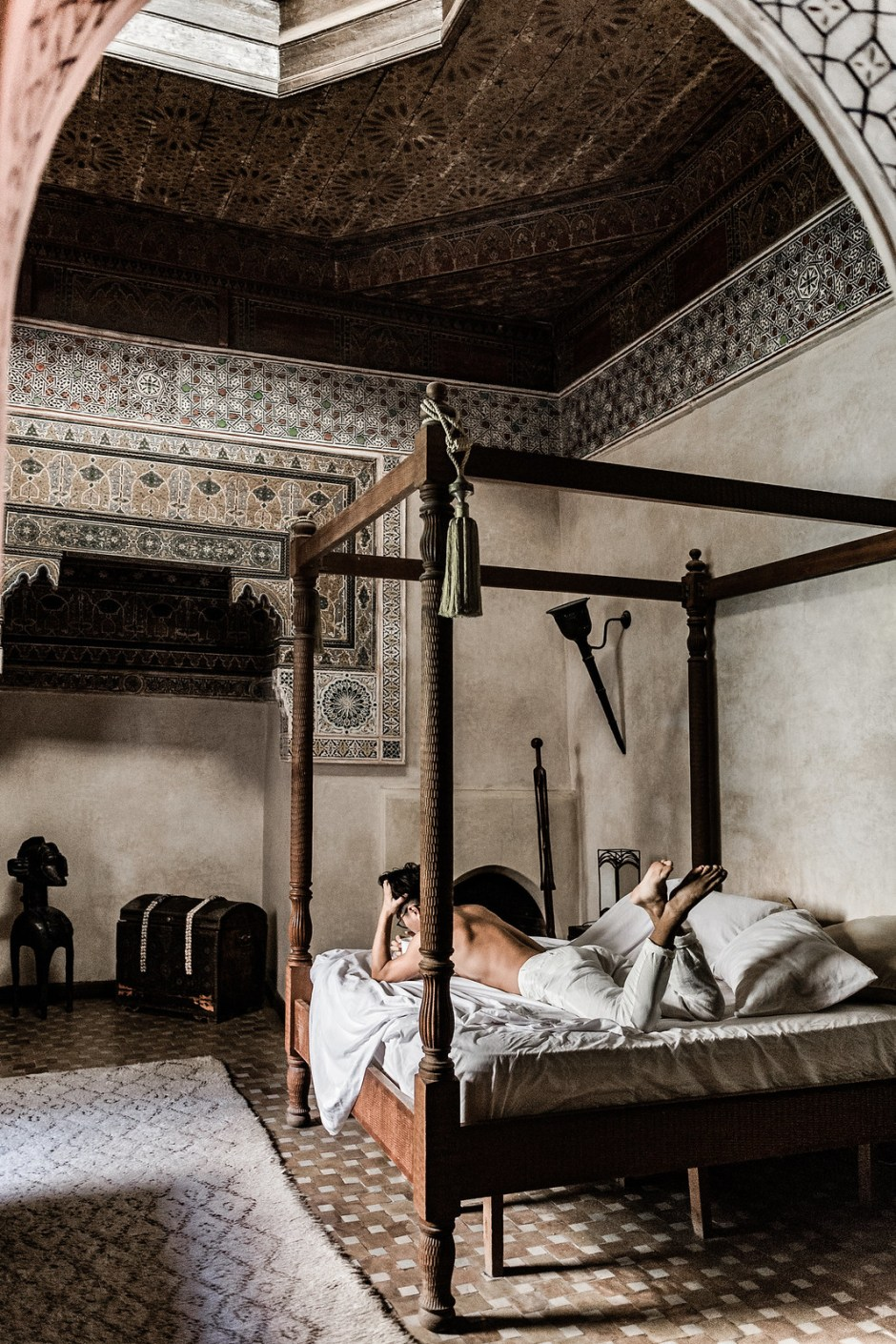 Marrakech Airbnb by Bloggers boyfriend