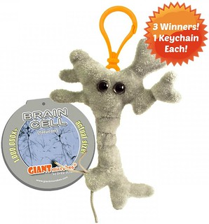 GIANTmicrobes Brain Cell Giveaway