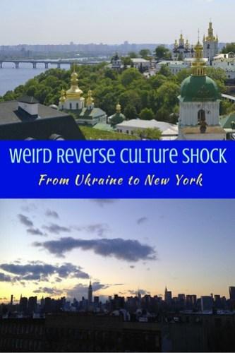 Weird Reverse Culture Shock
