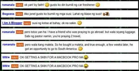 Online Friends Reaction to buying an iPad Cover (w/o an iPad)) :)