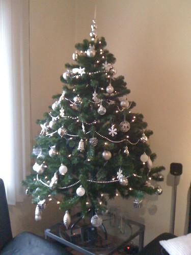 Mijn kerstboom staat!!! Gezellig, sfeer in huis...