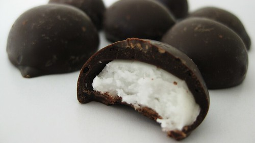 dark chocolate mint creams