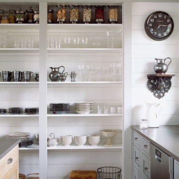 coastal living open pantry shelves