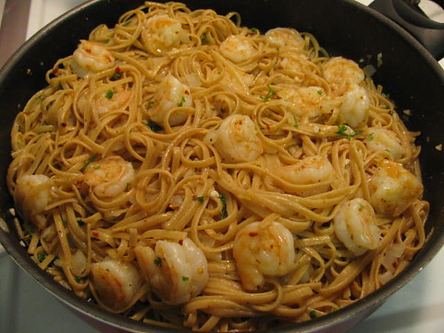 Giada's Lemon Shrimp Linguine