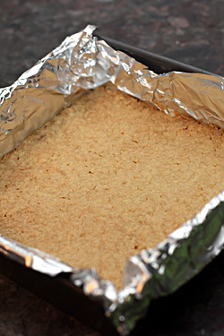 lemon bar crust baked