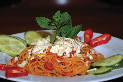 Spagetti keyifle yenebileceği Alanya'daki ideal adreslerden birisi de Hancı Pastanesi