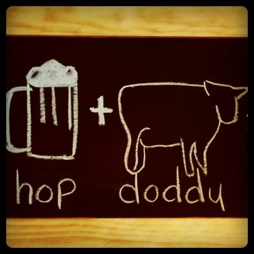 Beer + Burgers = Happy