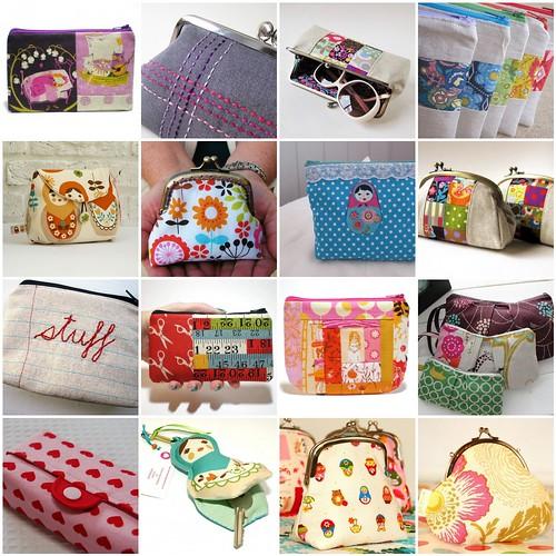 Pretty {little} pouch swap inspiration