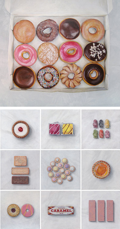 Joël Penkman Food Paintings