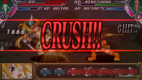 Queen's Blade : Spiral Chaos - crush