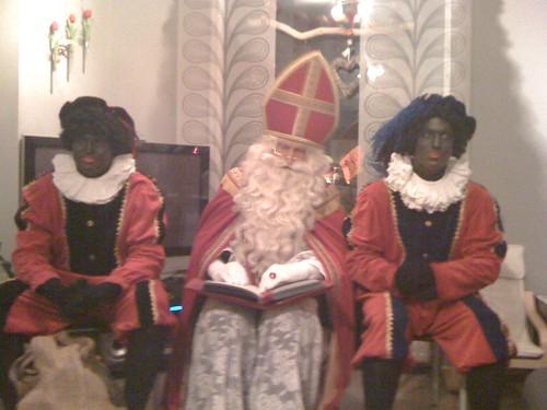 Sinterklaas en zijn Pieten...