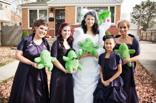 Flubber Bridal Party