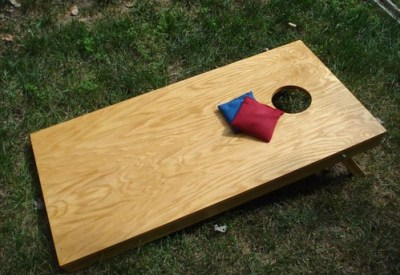 gift cornhole game via cornholenation