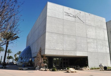 Exterior of the Salvador Dali Museum, Jan. 14, 2011