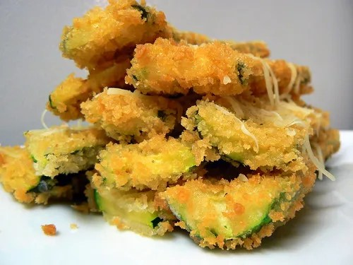 Maggiano's Fried Zucchini with Lemon Dip (6/6)