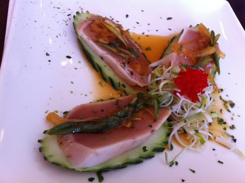 Kai Sushi White Tuna appetizer