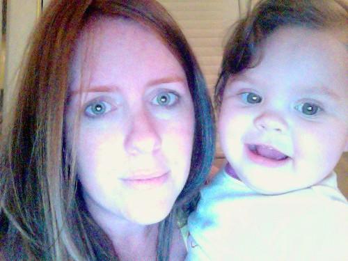 seriously, non color-corrected, red eyebrows