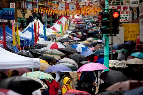 umbrellas in chinatown