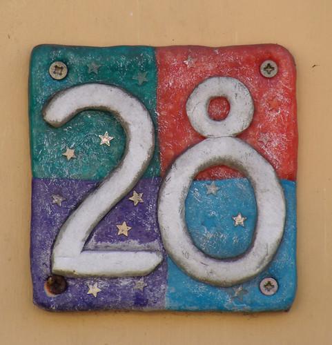 No 28 - handpainted