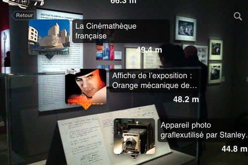 Exposition Stanley Kubrick en réalité augmentée dans CultureClic