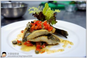 [西餐]魚類 檸汁蕃茄橄欖油魚片