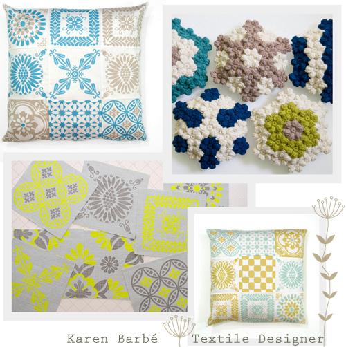 Karen Barbé Textile Designer