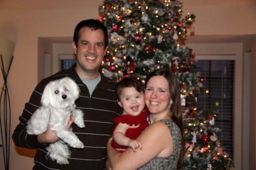 The Spohrs, Christmas 2010