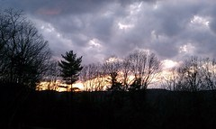 Cohutta overlook at sunset