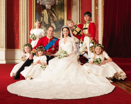 Royal Wedding Photo of William & Kate