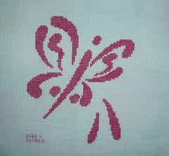 Brushstroke Butterfly8 by BarbH