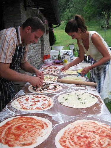 Pizza night at La Tavola Marche